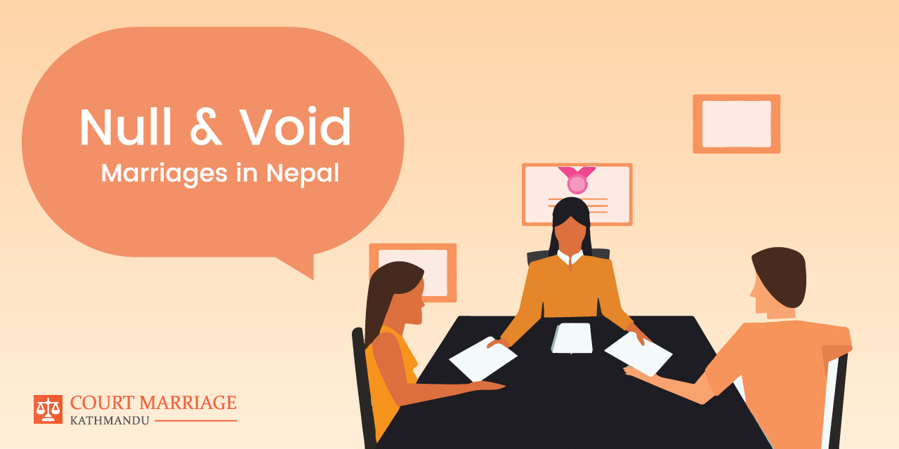 Null and void marriages in Nepal